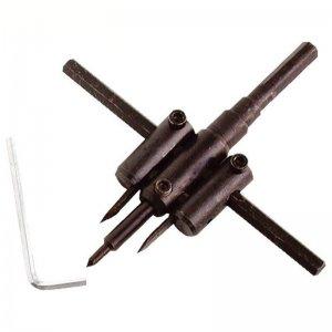 Vrták nastavitelný vykružovací do dřeva s 2břity 30-120mm EXTOL CRAFT 1804