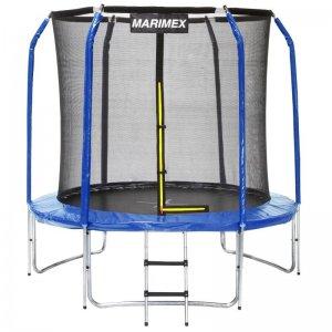 Trampolína Marimex 244 cm + vnitřní ochranná síť + schůdky 19000048