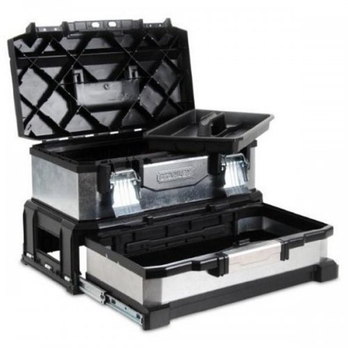 Box na nářadí kovoplastový se zásuvkou Stanley 1-95-830