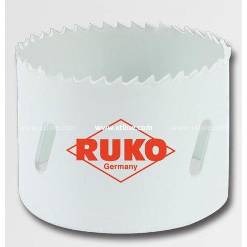 Bimetalová vykružovací korunka HSS 102 mm RUKO RU126102