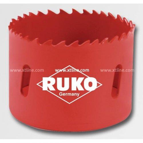 Bimetalová vykružovací korunka HSS 108 mm RUKO RU106108