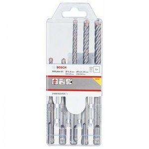 5dílná sada vrtáků do kladiv SDS-plus-5X 5,6,6,8,10 Bosch 2608833910