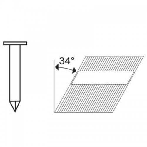 Hřebíky Typ RN průměr 3,33 × 70 mm 2 500 ks Aircraft 2405970