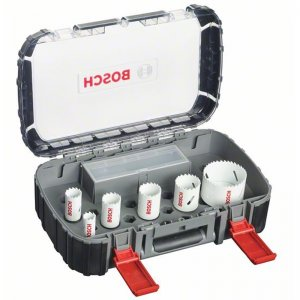 9dílná sada děrovek pro instalatéry Progressor Bosch 2608580877