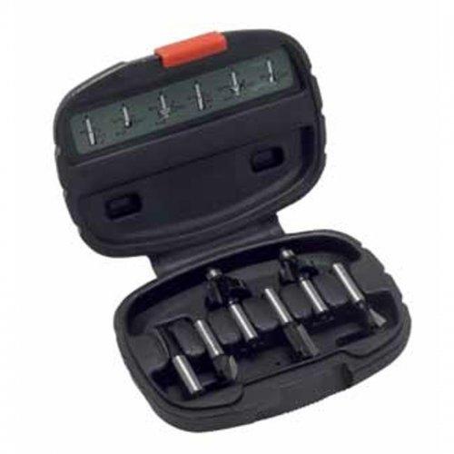 6 dílná sada fréz z tvrdokovu (ostopky 8 mm) Bosch 2607019463