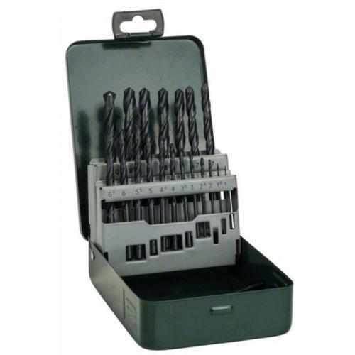 19 dílná sada vrtáků do kovu HSS-R Bosch 2607019435