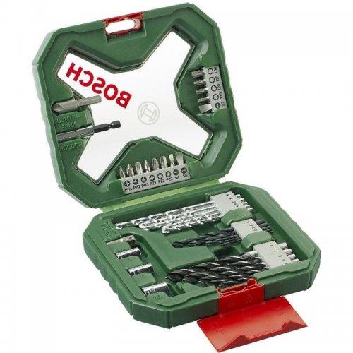 34 dílná sada vrtáků a šroubovacích bitů X-line Classic Bosch 2607010608