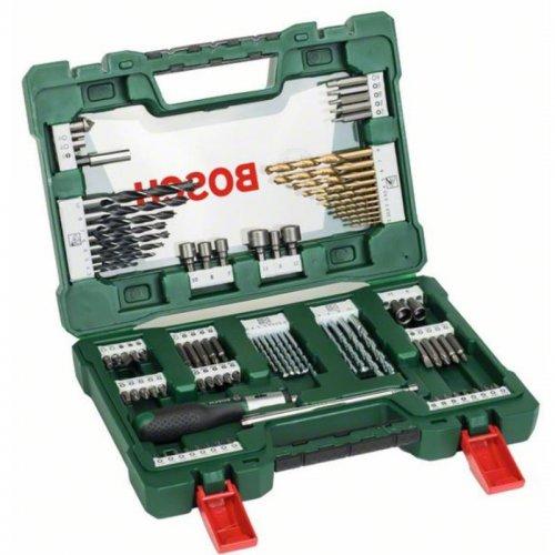 91 dílný TiN set šroubovacích bitů a vrtáků Bosch 2607017195