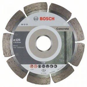 Diamantový dělicí kotouč 10ks Standard for Concrete 125 x 22,23 x 1,6 x 10 mm Bosch 2608603240