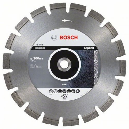 Diamantový dělicí kotouč Best for Asphalt 350 x 20/25,40 x 3,2 x 12 mm Bosch 2608603641