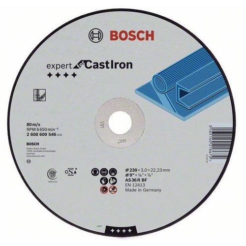 Dělicí kotouč rovný litý AS 24 R, 230 mm, 22,23 mm, 3 mm Bosch 2608600546