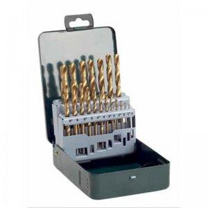 19 dílná sada titanových vrtáků do kovu HSS-R Bosch 2607019437