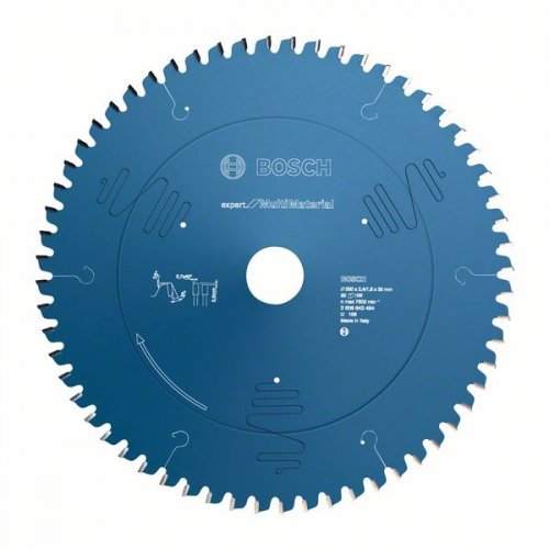 Pilový kotouč Expert for Multi Material 250 x 30 x 2,4 mm, 80 Bosch