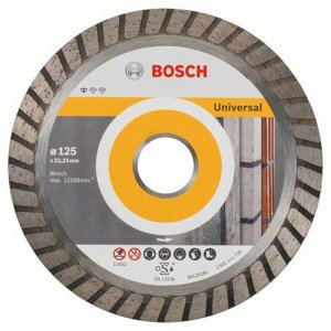 Diamantový dělicí kotouč 10ks Standard for Universal Turbo 125 x 22,23 x 2 x 10 mm Bosch 2608603250
