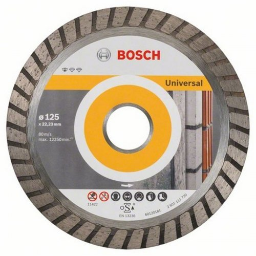 Diamantový dělicí kotouč 10ks Standard for Universal Turbo 180 x 22,23 x 2,5 x 10 mm Bosch 2608603251