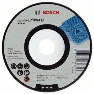 Hrubovací kotouč lomený, kov 125 x 6 x 22.23 mm Bosch