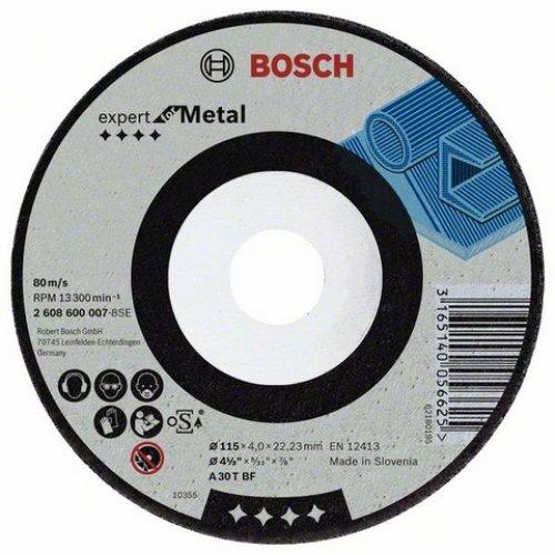 Hrubovací kotouč lomený - kov A 30 T BF, 230 mm, 22,23 mm, 8 mm Bosch