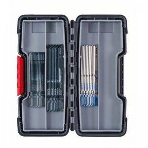 30dílná sada pilových plátků do kmitacích pil Bosch Wood and Metal Basic 2607010903