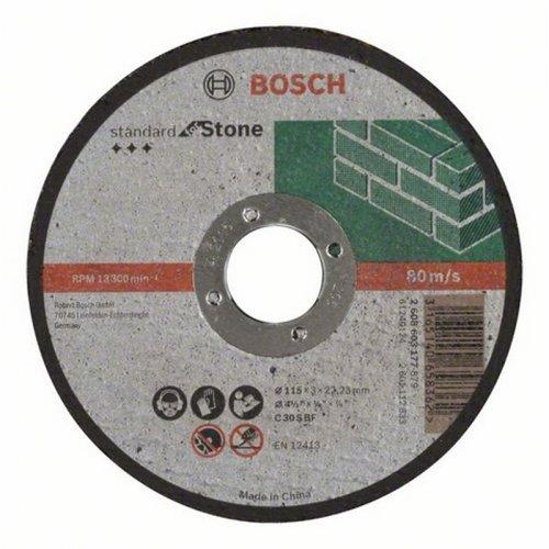 Dělicí kotouč rovný na kámen Standard for Stone C 30 S BF, 230 mm, 22,23 mm, 3,0 mm Bosch 2608603180