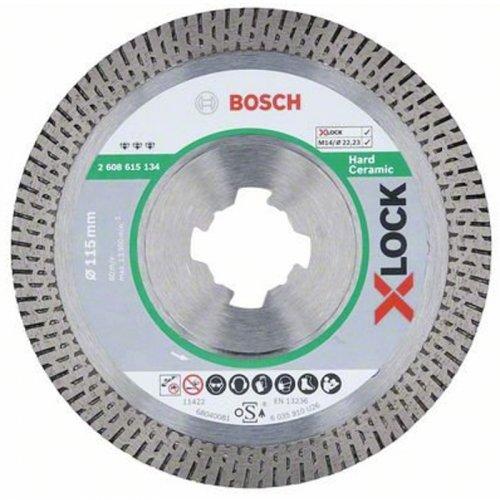 Diamantový dělicí kotouč Best for HardCeramic 115mm X-LOCK 2608615134