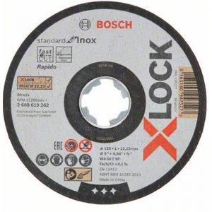 Řezný kotouč na kov Standard for Inox 125mm Bosch X-LOCK 2608619262