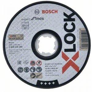 Řezný kotouč na kov Expert for Inox 125mm Bosch X-LOCK 2608619265