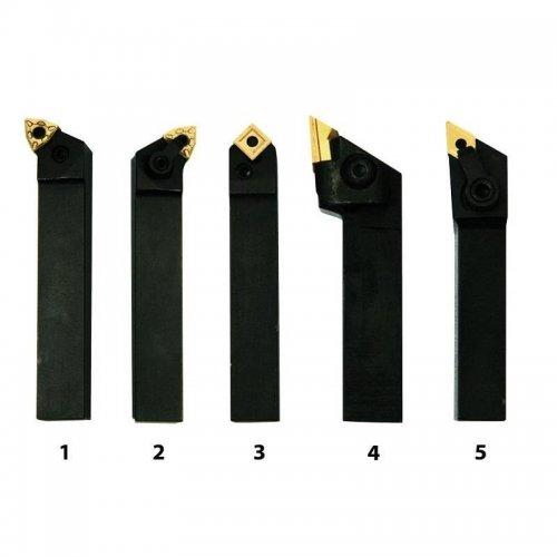 Sada soustružnických nožů 5ks, 16 mm OPTIMUM HM 3441668