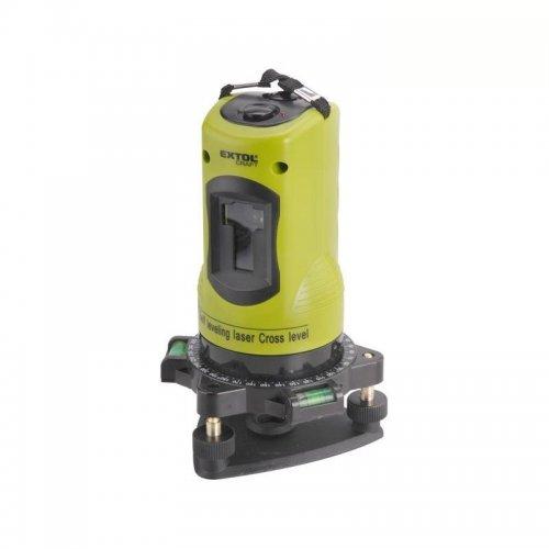 Laser liniový křížový samonivelační 1H1V EXTOL CRAFT 34900