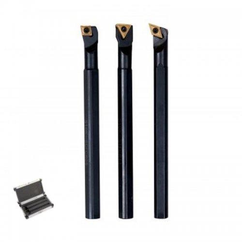 Sada soustružnických nožů HM 10mm v kufříku OPTIMUM 3441640