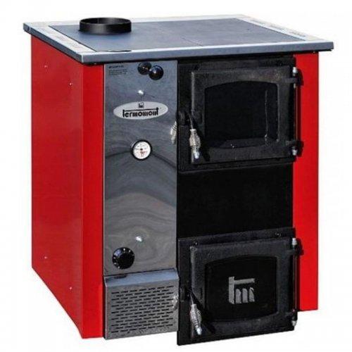 Kotel na tuhá paliva červený levý TERMOMONT TEMY Plus 12 365682
