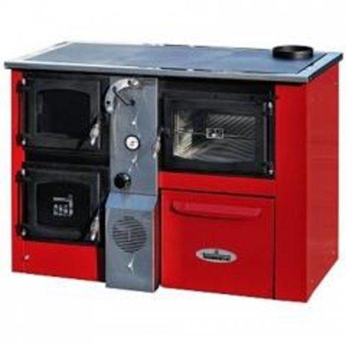 Kotel na tuhá paliva červený pravý TERMOMONT TEMY Plus P25 365691