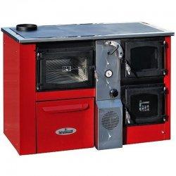 Kotel na tuhá paliva červený levý TERMOMONT TEMY Plus P25 365687