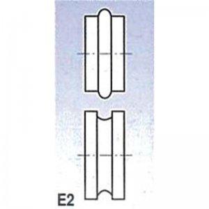 Rolny typ E2 pro SBM 140 Metallkraft 3880132