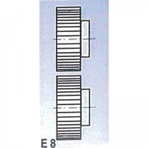 Rolny typ E8 pro SBM 140 Metallkraft 3880138