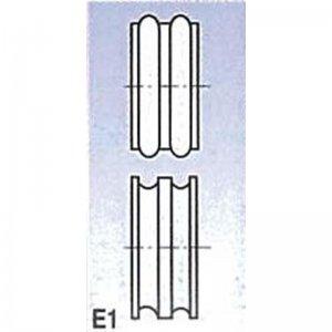 Rolny typ E1 pro SBM 110 Metallkraft 3880121
