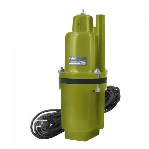 Hlubinné ponorné čerpadlo membránové 300W kabel 10m EXTOL CRAFT 414170