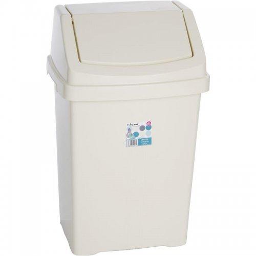 Odpadkový koš 50l béžový WHAM 11940