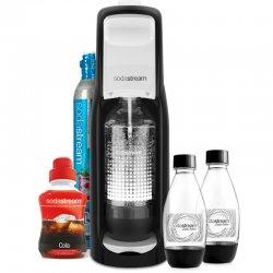 Výrobník perlivé vody Sodastream Jet B&W MegaPack LE