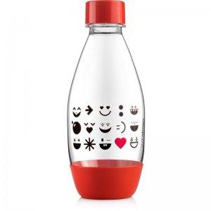 Lahev dětská 0.5l Sodastream Smajlík červená