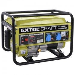 Benzínová elektrocentrála EXTOL CRAFT 421000