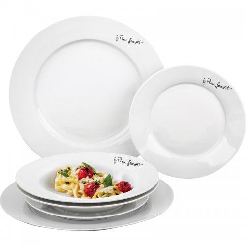 Sada jídelních talířů kulatých DINE LAMART LT9001