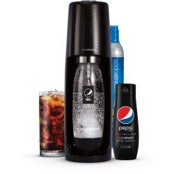 Výrobník perlivé vody Sodastream Spirit Black Pepsi MegaPack