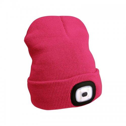 Čepice s čelovkou růžová EXTOL LIGHT 43193