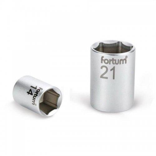 """Hlavice nástrčná 1/4"""" 13mm L 25mm FORTUM 4701413"""