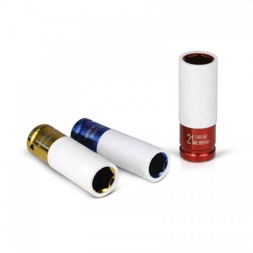 """Hlavice nástrčná rázová 1/2"""" 17mm L 86mm FORTUM 4700817"""