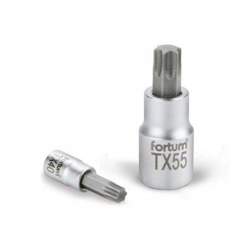 "Hlavice zástrčná TORX 1/4"" TX 27 L 37mm FORTUM 4701724"