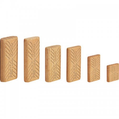 Dřevěné kolíky DOMINO buk FESTOOL D 6x40/1140 BU