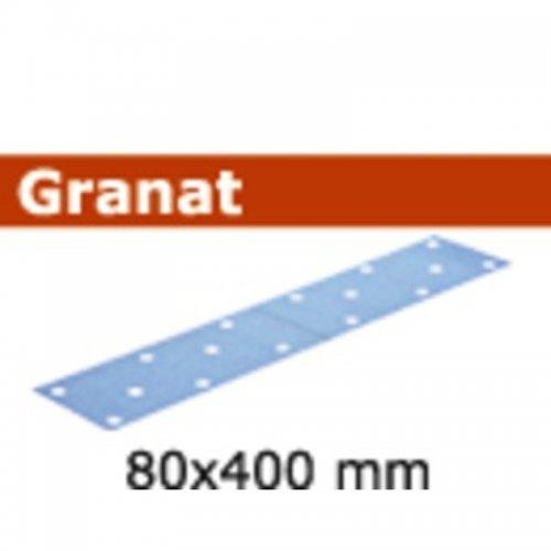 Brusný papír FESTOOL STF 80x400 P80 GR/50 497159