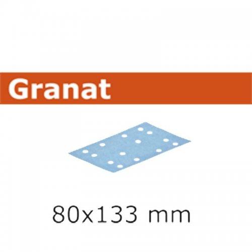 Brusný papír FESTOOL STF 80X133 P100 GR/100 499628
