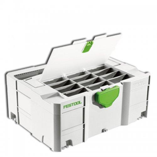 Úložný box SYSTAINER T-LOC FESTOOL SYS 3 TL-DF 498390